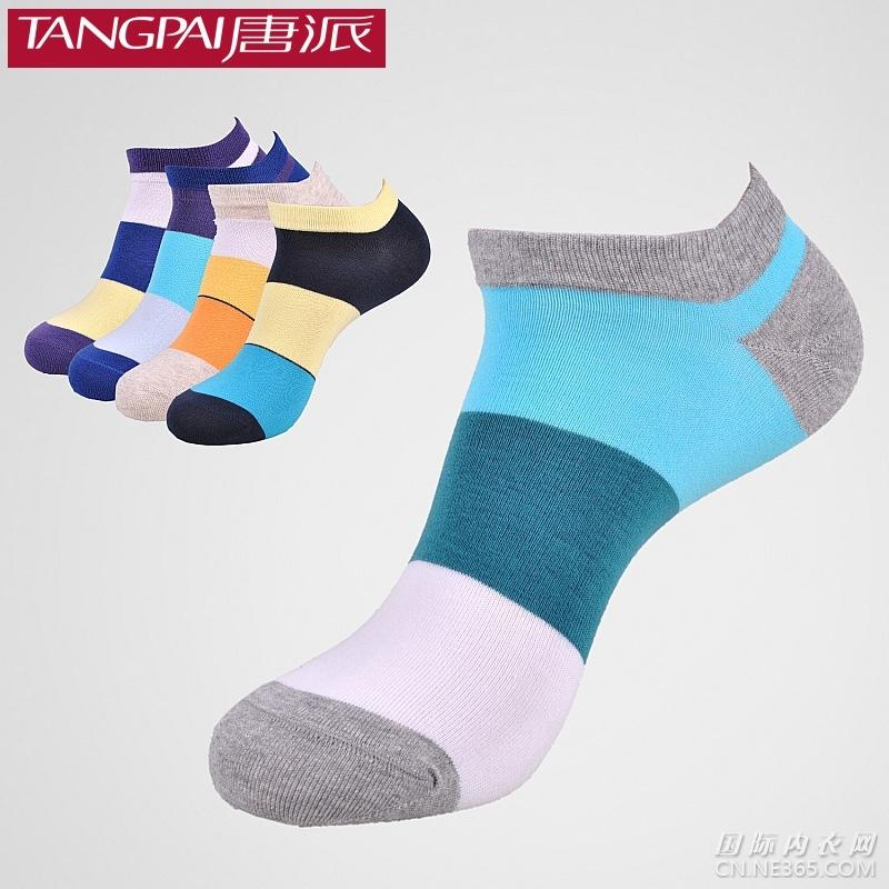 唐派品牌春夏男士休闲船袜子
