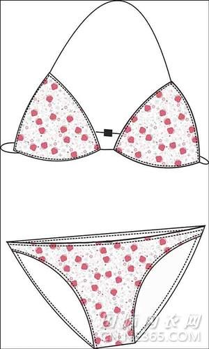 蕾丝内衣内裤胸罩设计图-内衣潮流资讯-国际内衣网