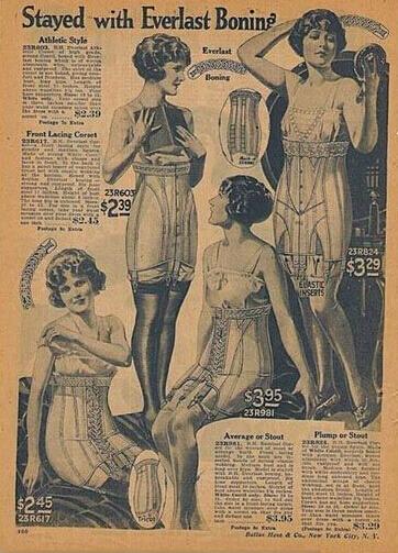 性感极了过去最流行的情趣内衣