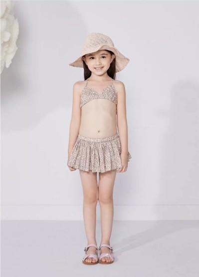 江南布衣童装2018夏季mini泳衣