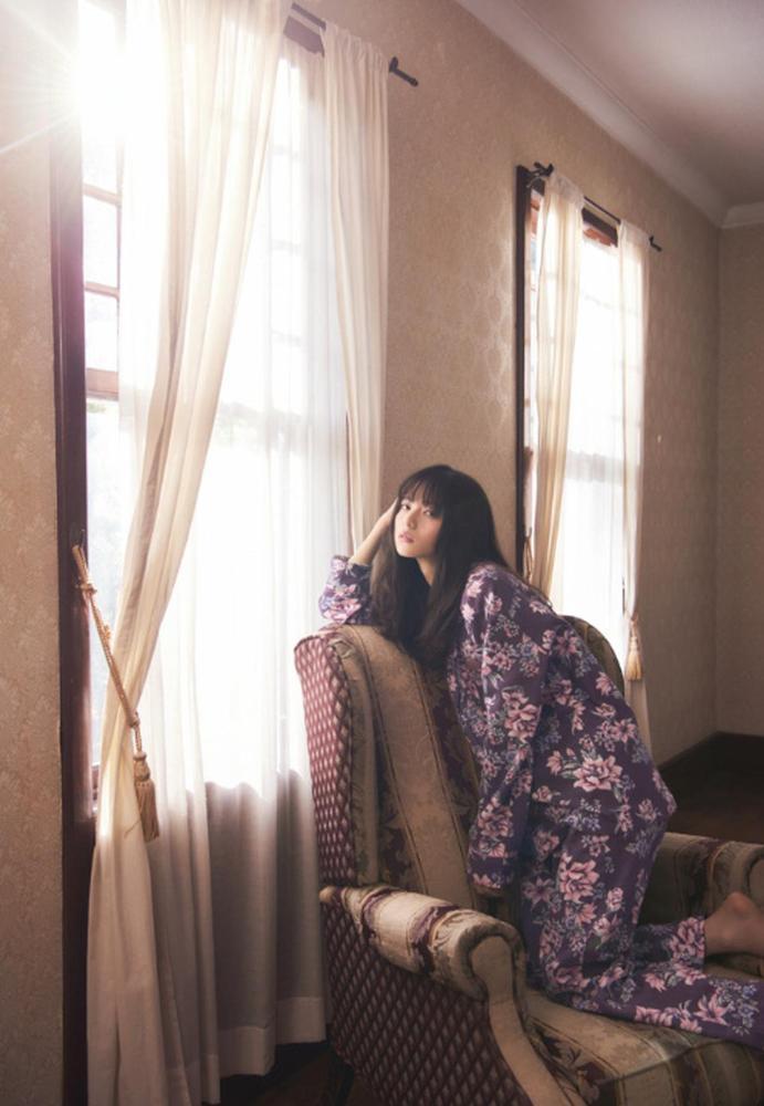乃木坂46演绎蜜桃派少女家居服