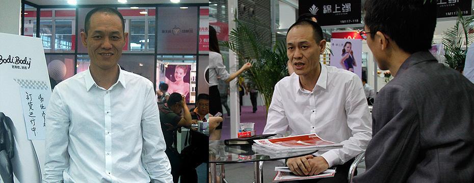 中山芭蒂欧服装有限公司总经理 刘绿洲